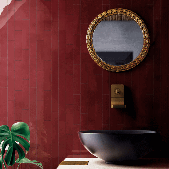 Neutral or vibrant coloured tiles– the choice is yours!